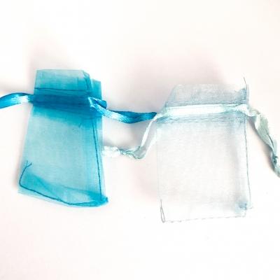 Organzazakjes blauw