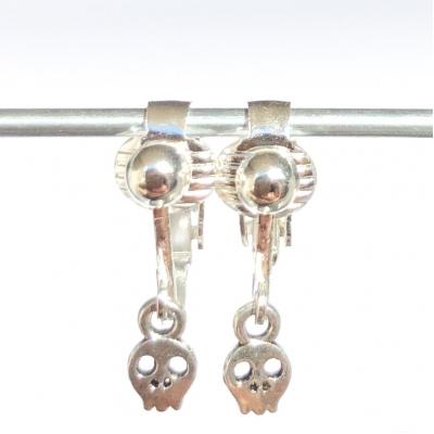 Clipoorbellen skull, schedel, hangoorbellen